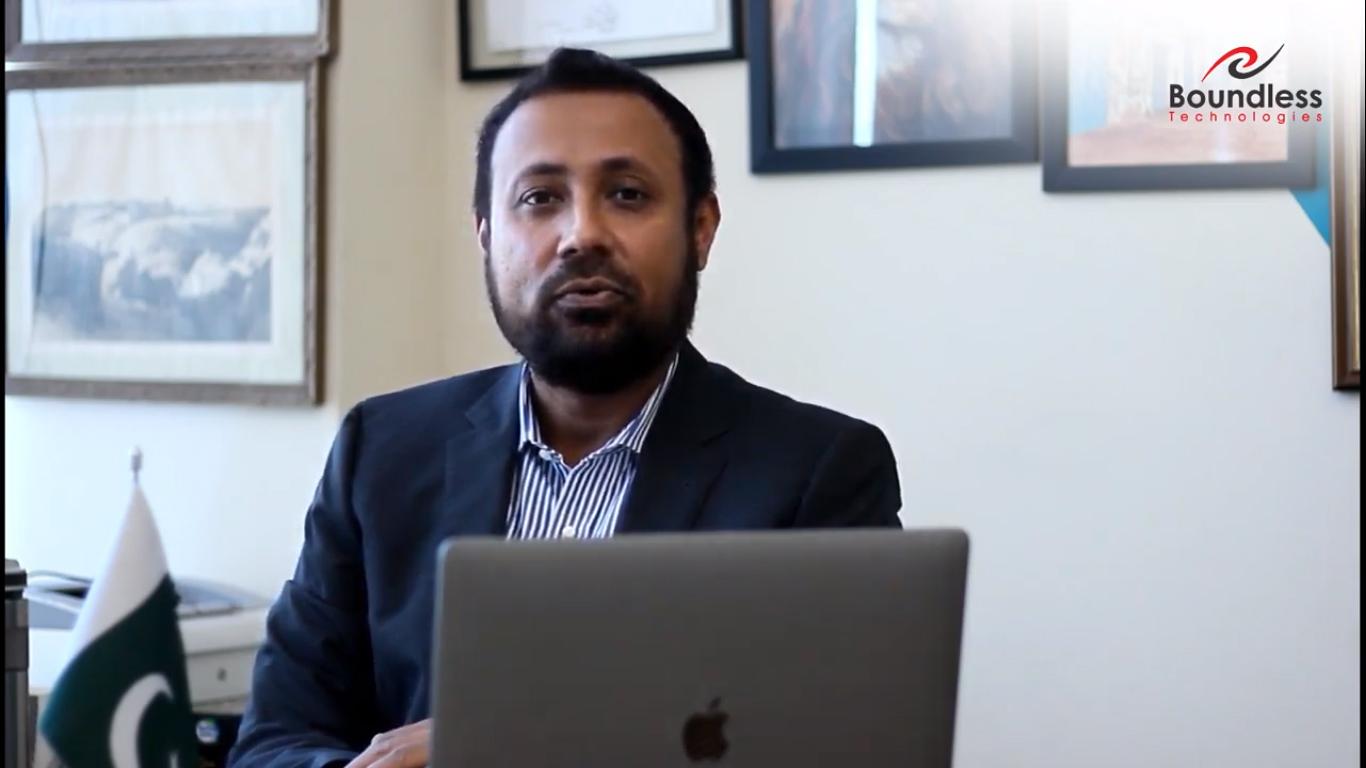 Mr. Fareed Zafar, CEO of Our Human Capital