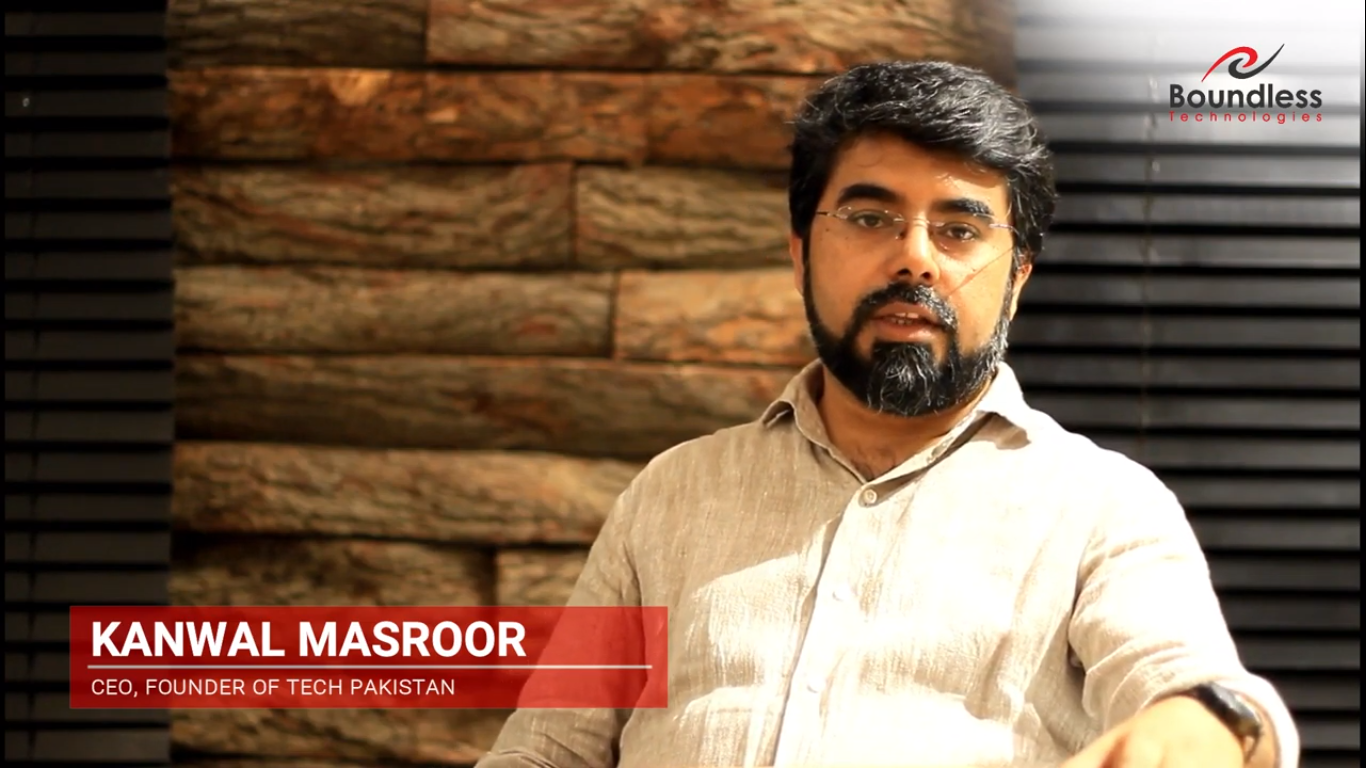 Mr. Kanwal Masroor CEO, Founder of TECH Pakistan